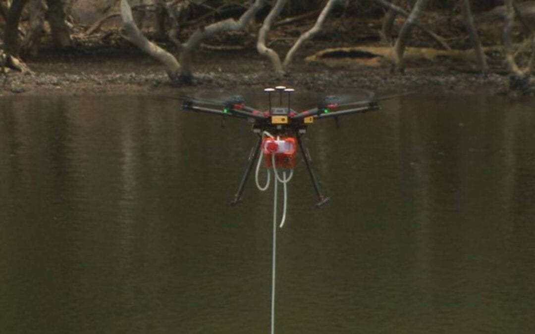 Sydney Water using drones to keep workers safe!